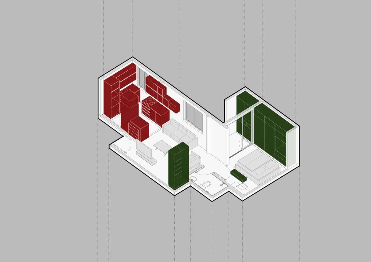 بازسازی خانه کوچک شیرین