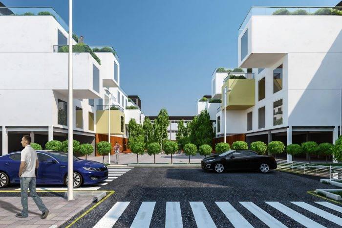 طراحی مجتمع مسکونی مدولار تهرانسر